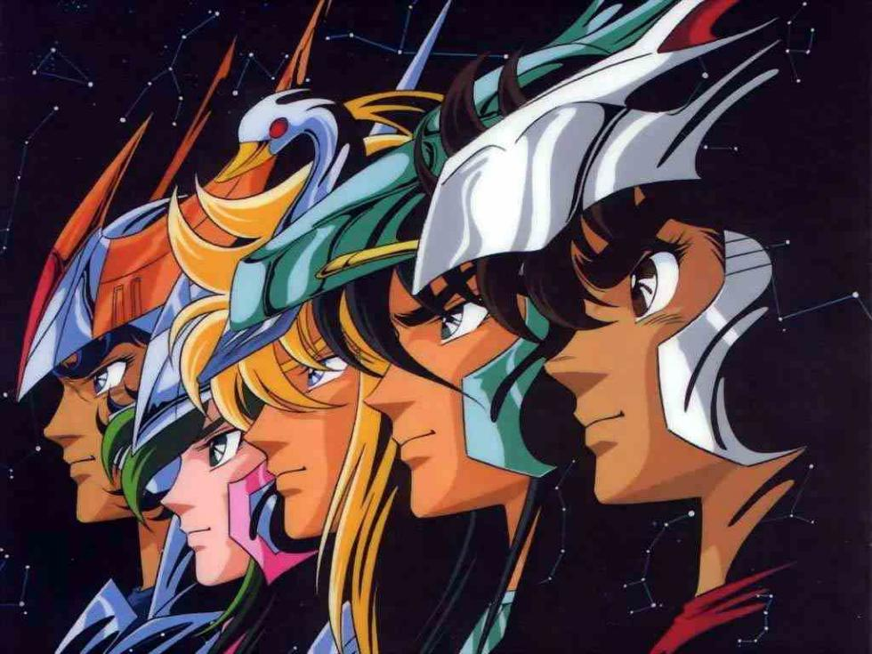 Saint Seiya serie anime