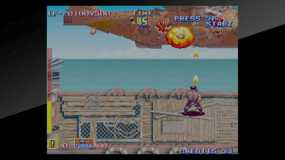 Shock Troopers Neo Geo 5