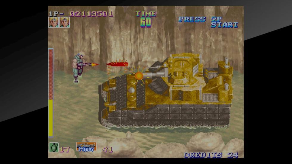 Shock Troopers Neo Geo