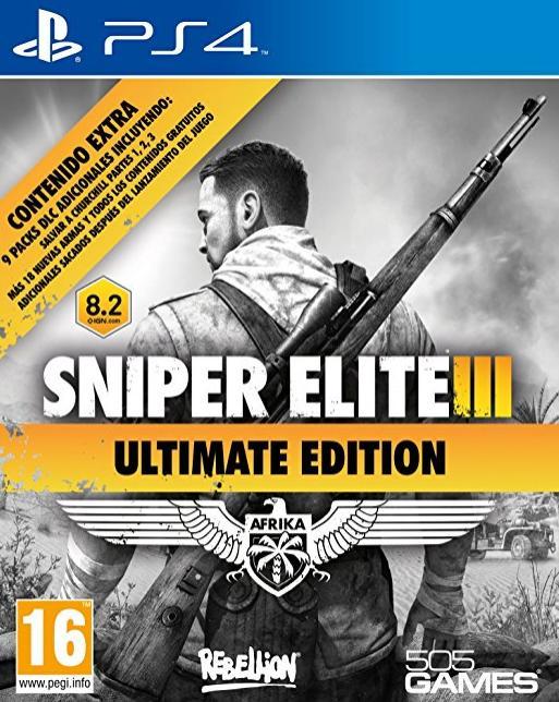Sniper Elite III carátula