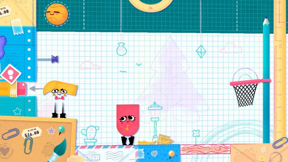 Snipperclips Switch