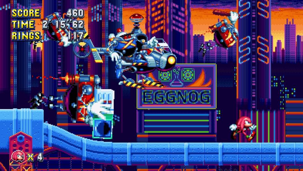 Sonic Mania - Nuevas imágenes