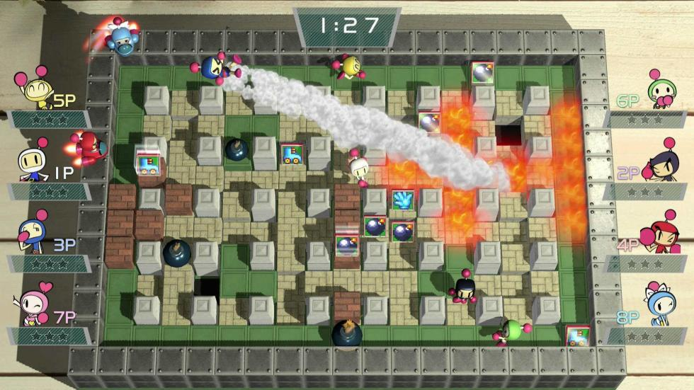 Super Bomberman Switch