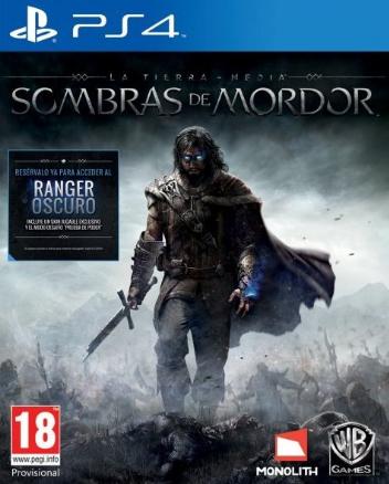 Sombras de Mordor carátula