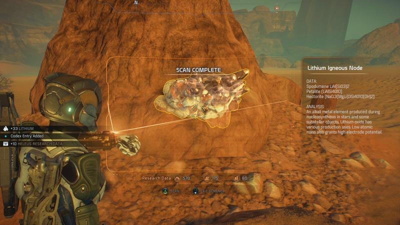 Mass Effect Andromeda - Omni-herramienta