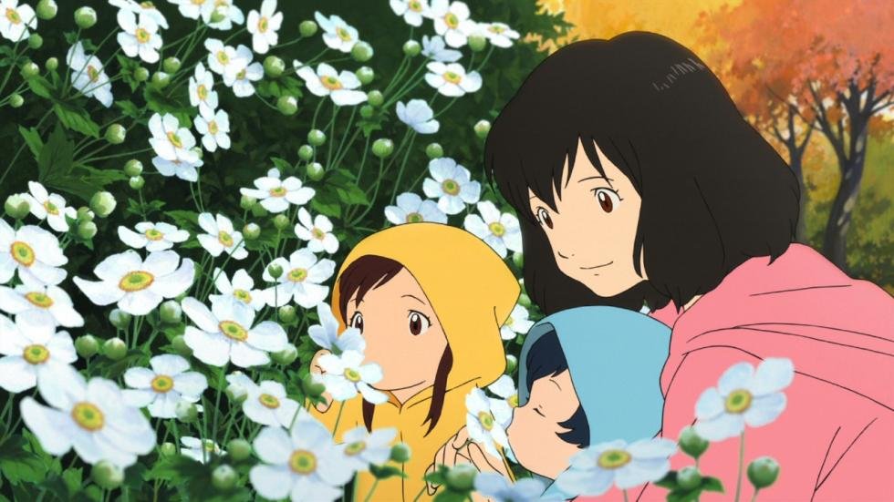 Wolf Children anime