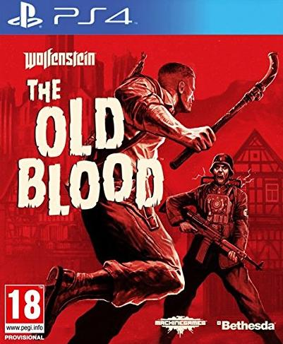 Wolfenstein The Old Blood carátula