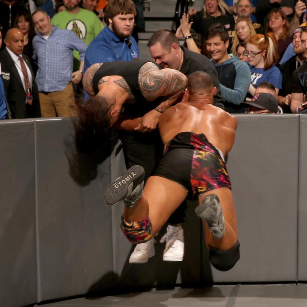 WWE - American Alpha vs Los Usos