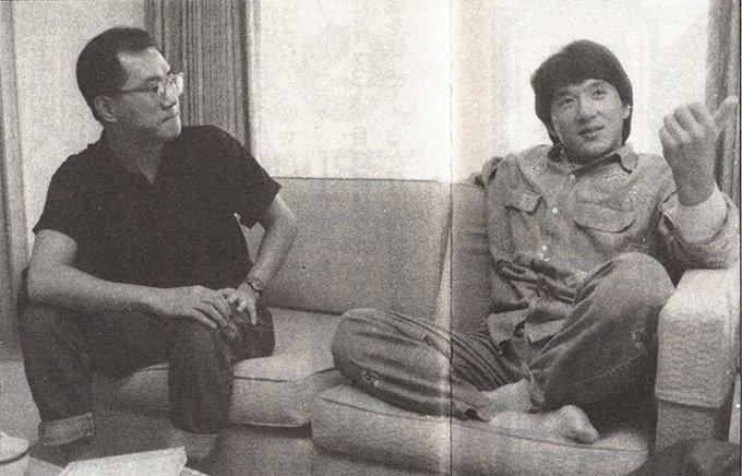 Akira Toriyama y Jackie Chan