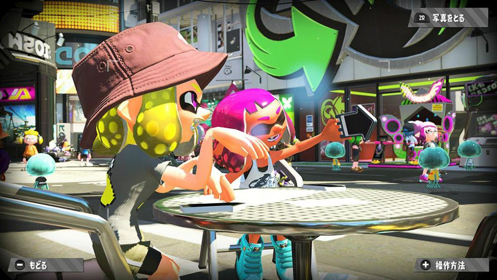 Amiibo en Splatoon 2