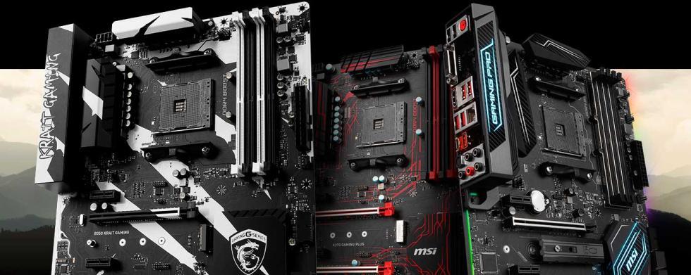 ATX Gaming MSI AMD RYZEN