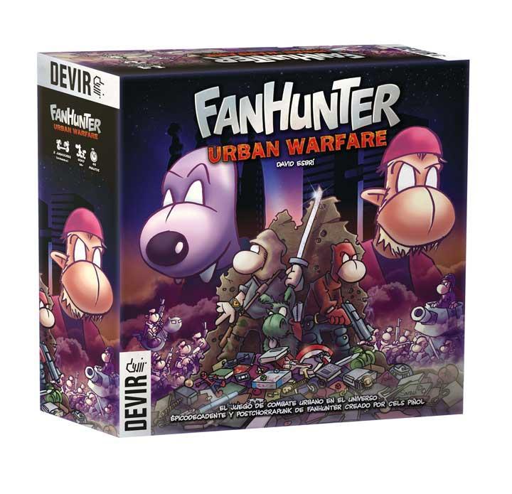 Fanhunter Urban Warfare - Así es el nuevo juego de mesa de Devir