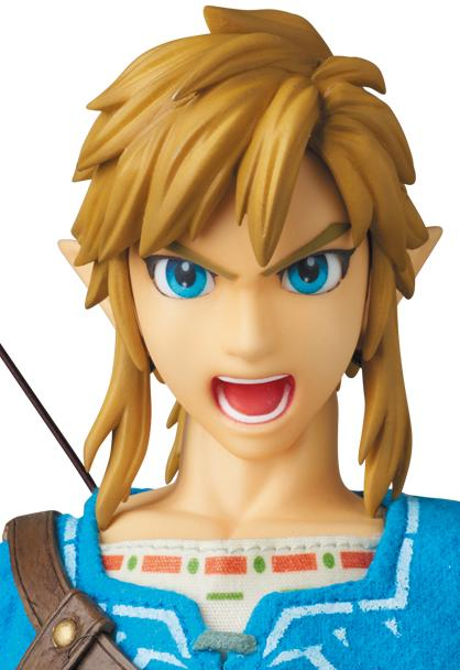 Figura coleccionista de Link en The Legend of Zelda Breath of the Wild