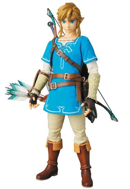 Figura coleccionista de Link en The Legend of Zelda Breath of the Wild