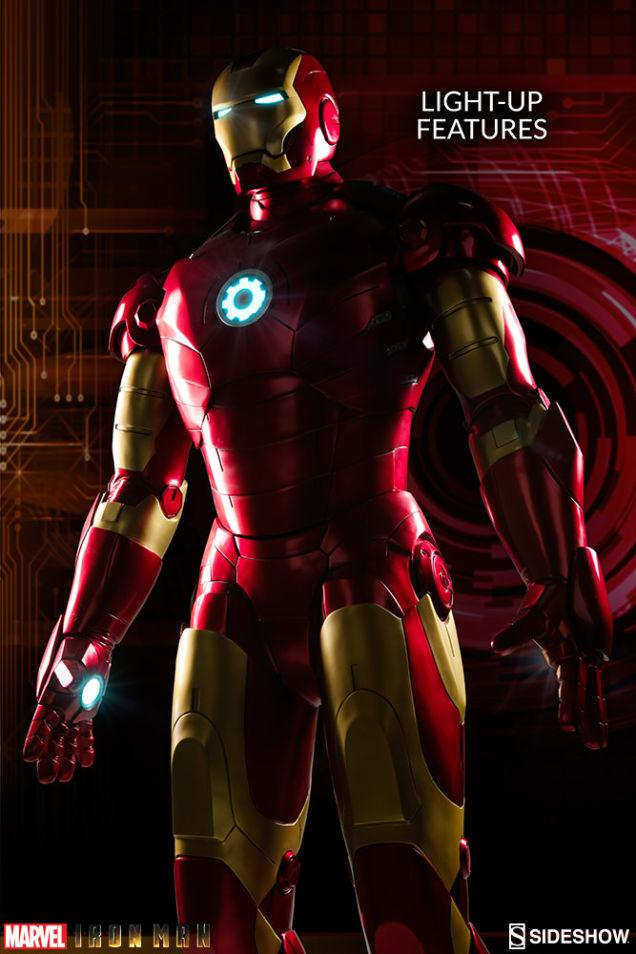Figura Iron Man Mk III Sideshow