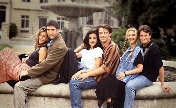 Friends - sitcom de los noventa