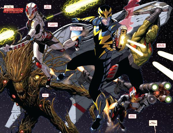 Guardianes de la Galaxia: Vengadores Cósmicos - Review de la etapa Bendis