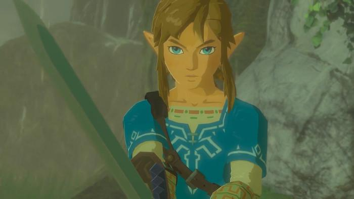 Link en Breath of the Wild