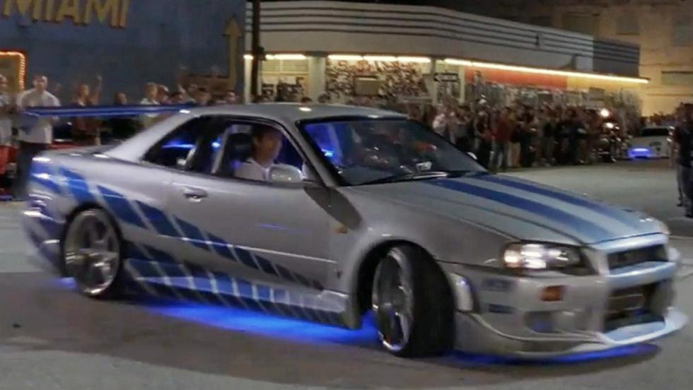 Los mejores coches de Fast and Furious - Nissan GT-R R34