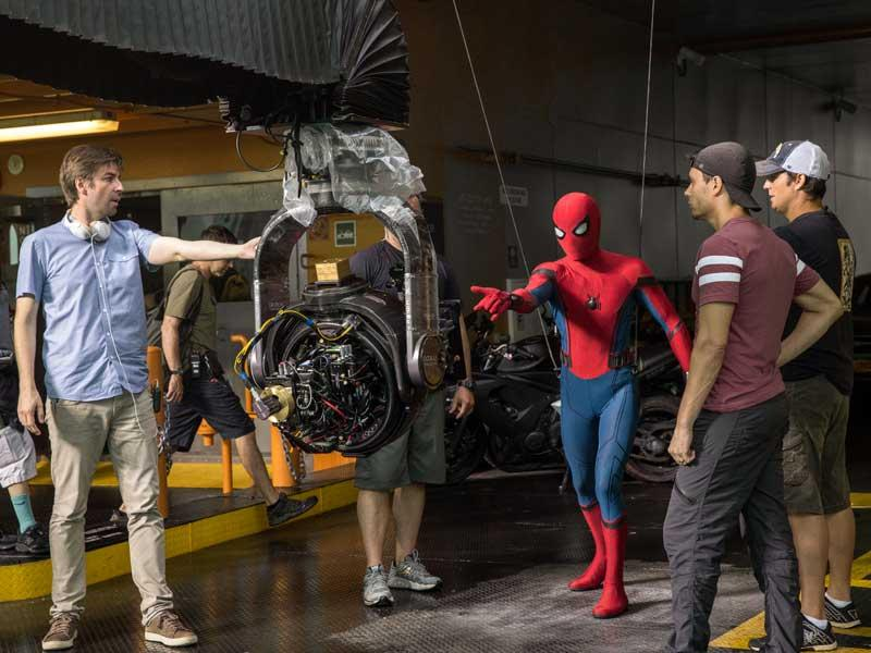 Nuevas imágenes del rodaje de Spider-Man: Homecoming