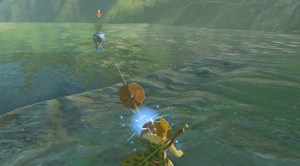 Octorok en Breath of the Wild