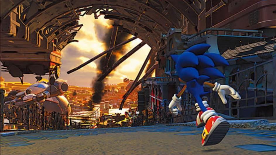 Sonic Forces en versión alpha