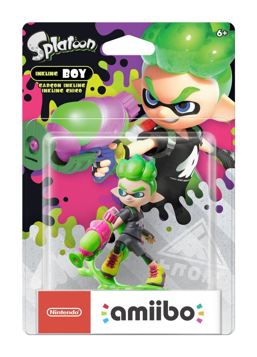 Splatoon 2 Amiibo