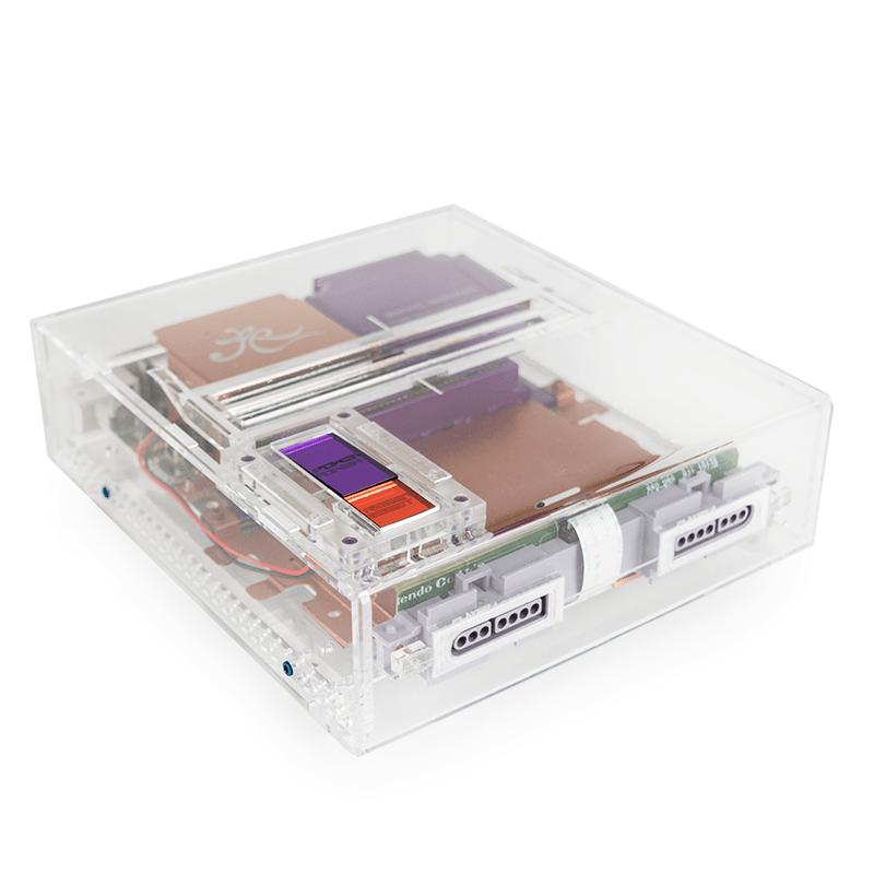 Super Nintendo Transparente - El rediseño de SNES por Rose Colored Gaming