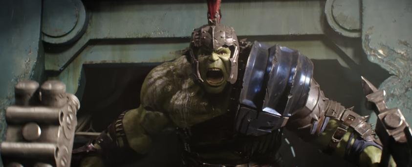 9. La armadura de Hulk y el casco de Thor