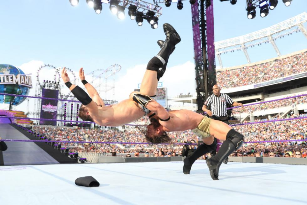 WrestleMania 33 - Campeonato de Peso Crucero (Kickoff)