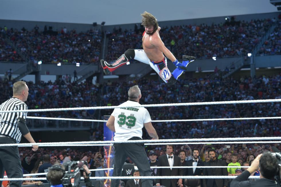 WrestleMania 33 - Shane McMahon vs. AJ Styles