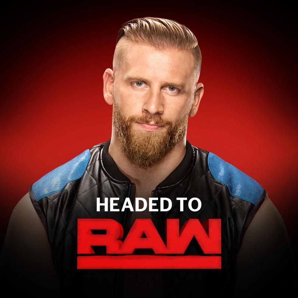 WWE -  Curt Hawkins pasa de SmackDown a Raw