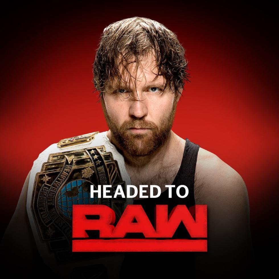 WWE -  Dean Ambrose pasa de SmackDown a Raw