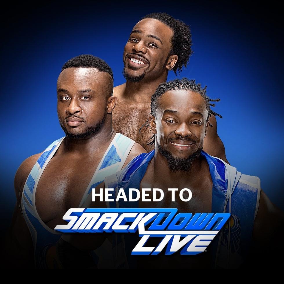 WWE - The New Day pasa de Raw a SmackDown Live