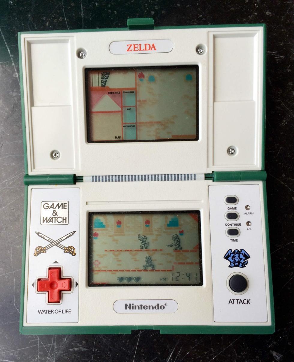 Zelda Game & Wach