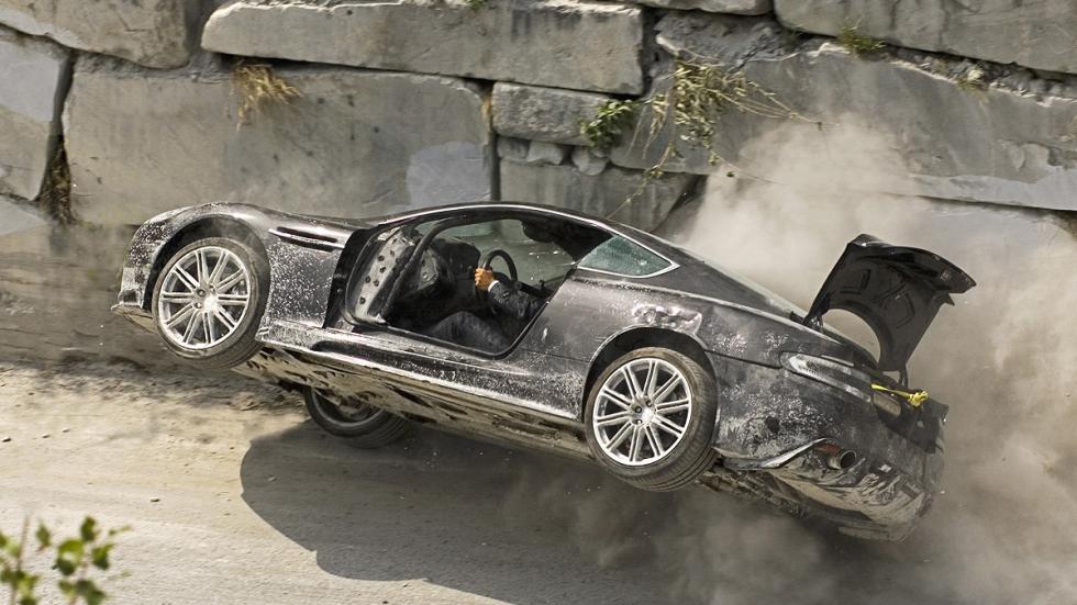 Aston Martin DBS en 'Quantum of solace'