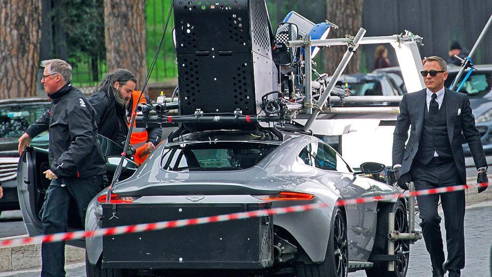 Así preparan el Aston Martin DB10 en 'Spectre'
