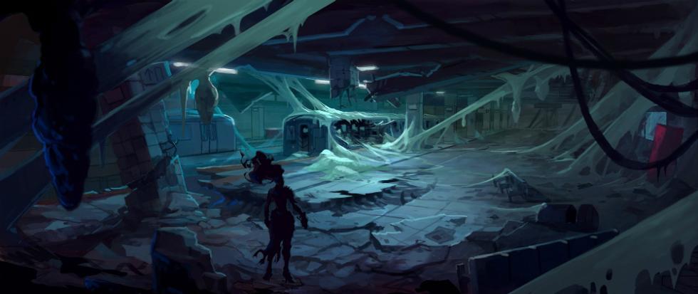 Arte conceptual de Darksiders 3