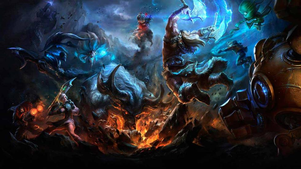 Fondo pantalla League of Legends