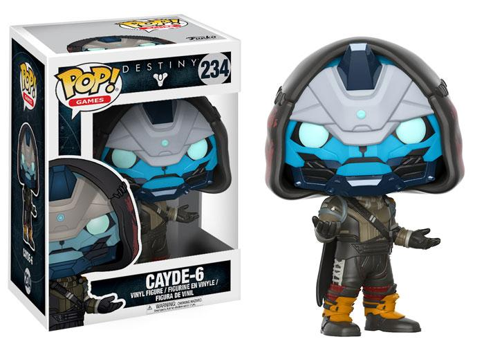 Funko Pop Destiny y Destiny 2