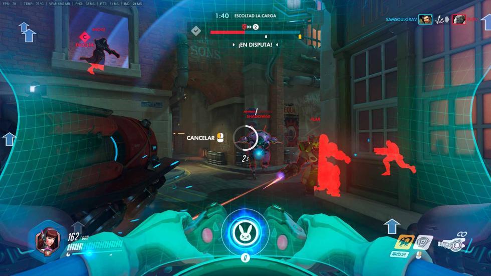 Overwatch en Acer Predator 17