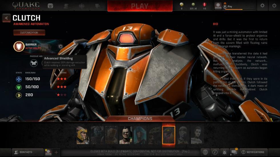 Quake Champions - Clutch