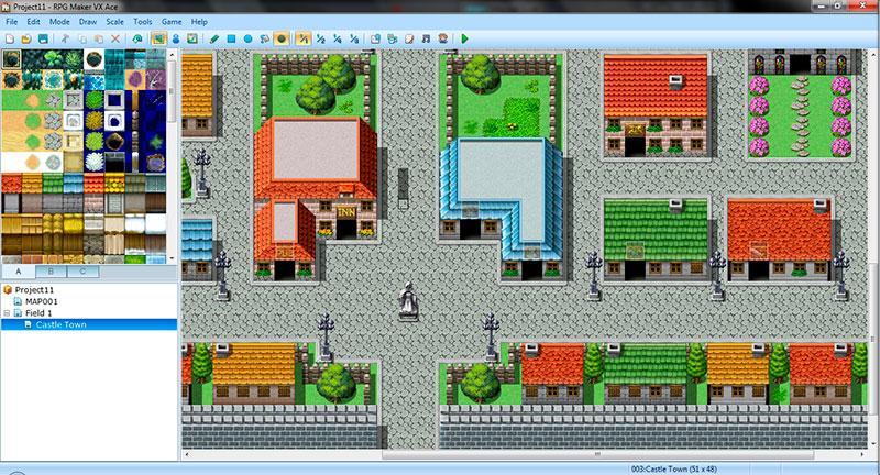 Capturas de RPG Maker