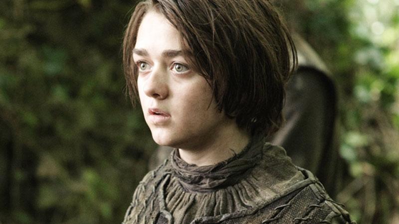 Arya en Juego de Tronos