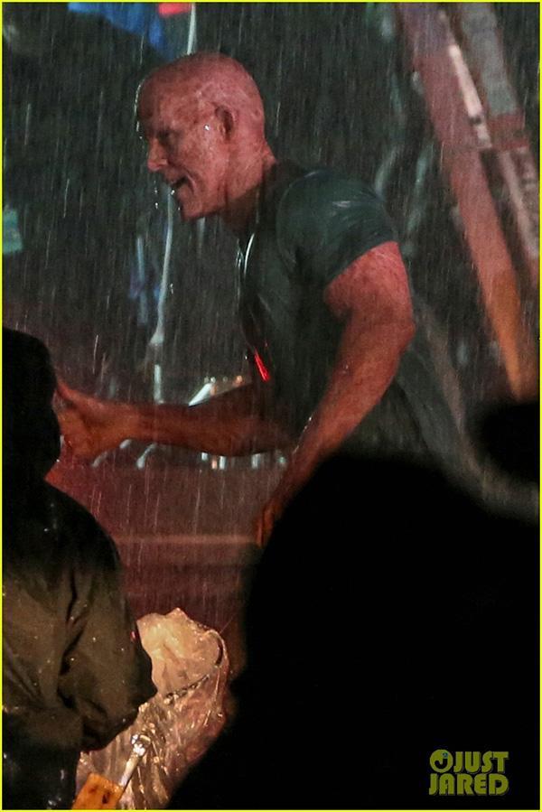 Deadpool 2 - Nuevas imágenes de Ryan Reynolds en el rodaje