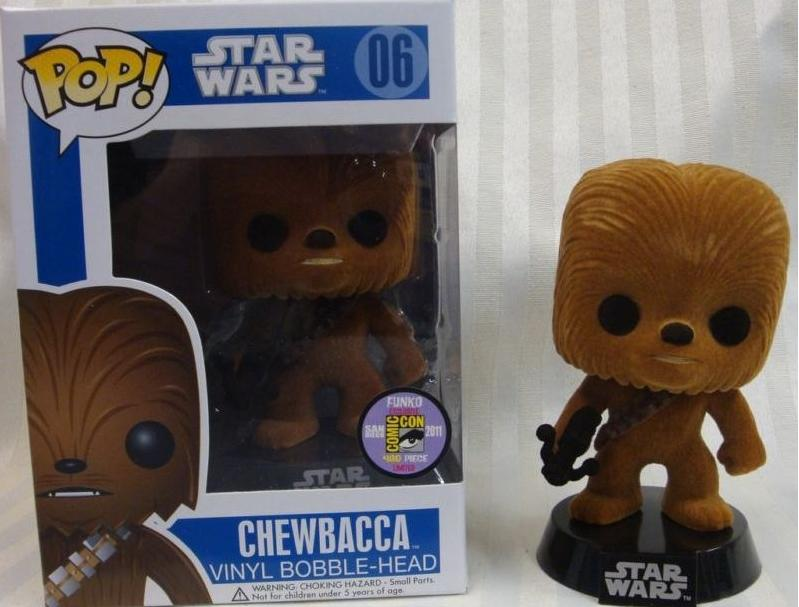 "#06 Chewbacca ""Flocado"""
