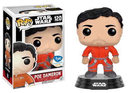 #120 Poe Dameron con traje naranja