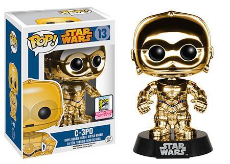 #13 C-3PO cromado