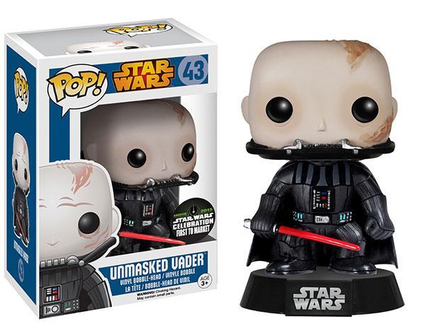 #43 Darth Vader sin casco