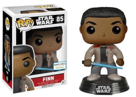 #85 Finn con sable de luz